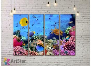 Модульные картины с животными, Art. AMM778048