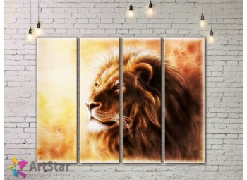 Модульные картины с животными, Art. AMM778068