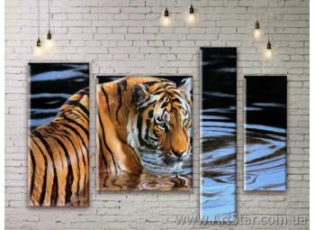 Модульные картины с животными, Art. ANIM777057