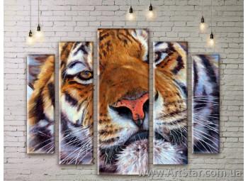 Модульные картины с животными, Art. ANIM777077