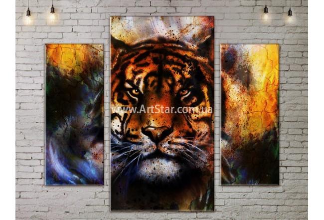 Модульные картины с животными, Art. ANIM778023