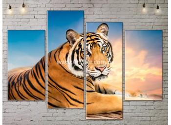 Модульные картины с животными, Art. ANIM778051
