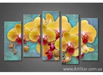 Модульная картина Орхидеи (5) 2
