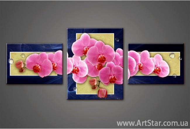 Модульная картина, Орхидея, купить