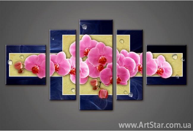 Модульная картина Орхидеи (5) 4