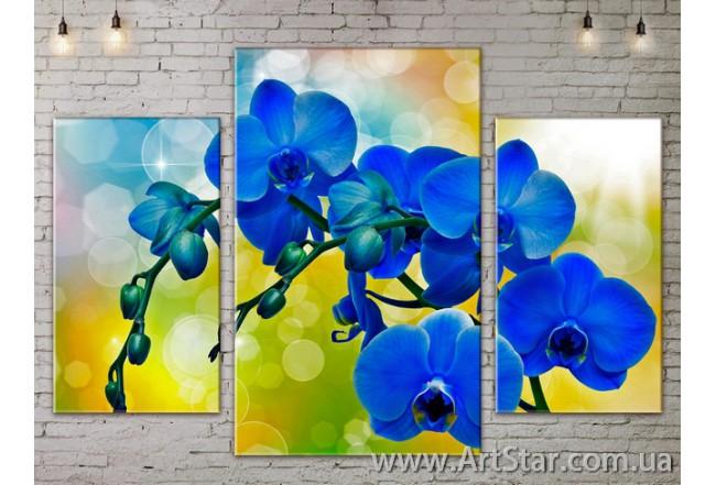 Модульные Картины Цветы, Art. FLOW777169