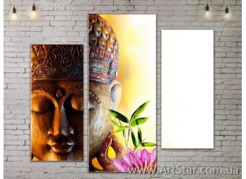 Модульные Картины, Цветы, Art. FLOW777273