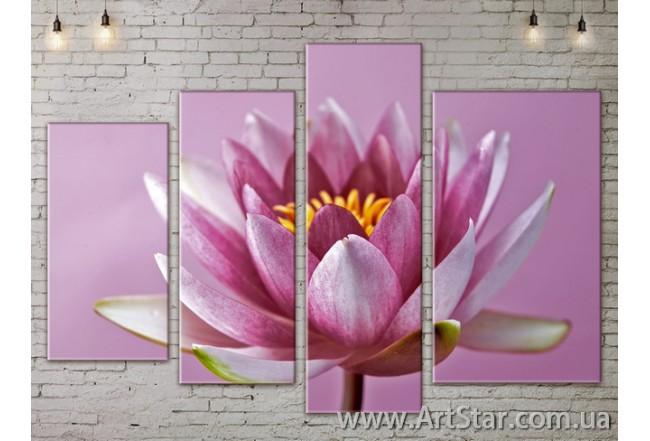 Модульные Картины, Цветы, Art. FLOW777434