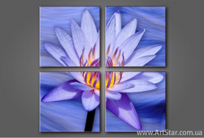 Модульная картина Цветы Лилии (4) 3