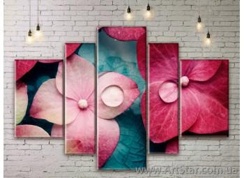 Модульные Картины Цветы, Art. FLWM0061