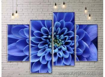 Модульные Картины Цветы, Art. FLWM0131