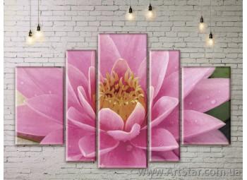 Модульные Картины Цветы, Art. FLWM0397