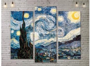 Модульная картина, Ван Гог, ART. KLAA777005