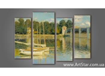 Модульная картина Клод Моне (4)
