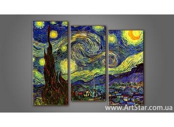 Модульная картина Ван Гог 2