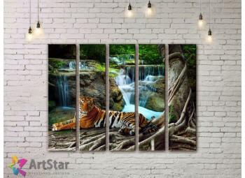Модульные картины пейзажи, Art. NAA778064
