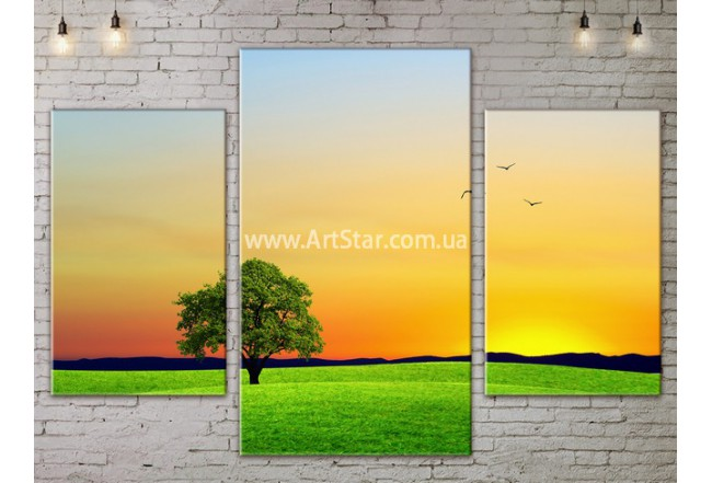 Модульные картины пейзажи, Art. NATA777017