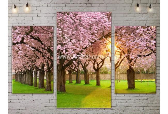 Модульные картины пейзажи, Art. NATA777019