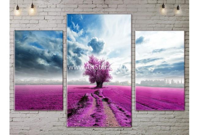 Модульные картины пейзажи, Art. NATA777033