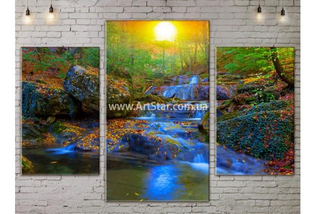 Модульные картины пейзажи, Art. NATA777041