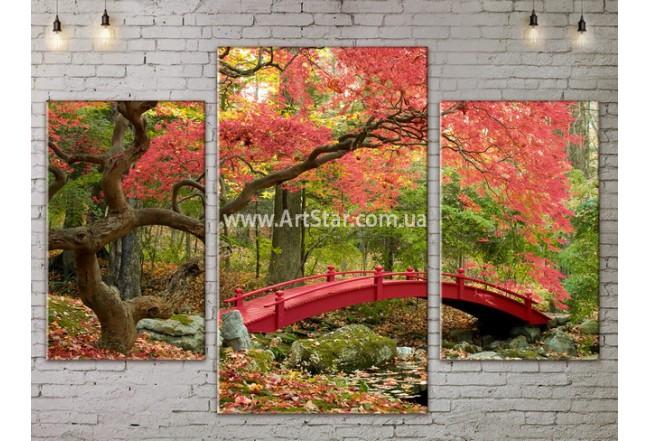 Модульные картины пейзажи, Art. NATA777045