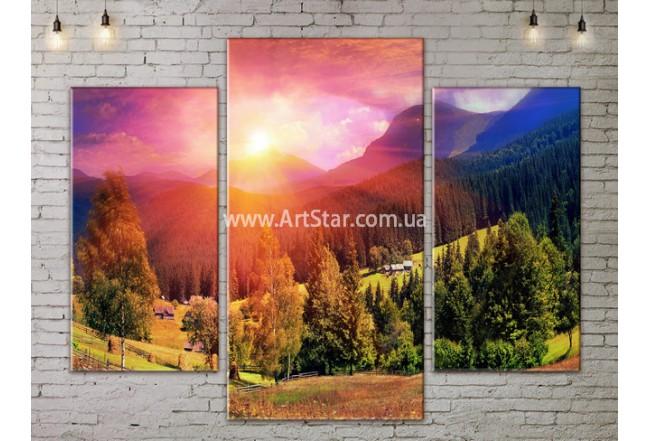 Модульные картины пейзажи, Art. NATA777051