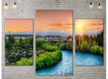 Модульные картины пейзажи, Art. NATA777075