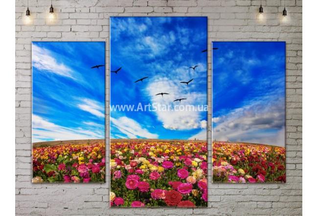 Модульные картины пейзажи, Art. NATA777077