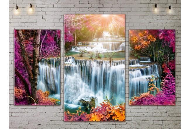 Модульные картины пейзажи, Art. NATA777087