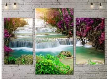 Модульные картины пейзажи, Art. NATA777095