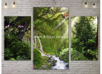 Модульные картины пейзажи, Art. NATA777117