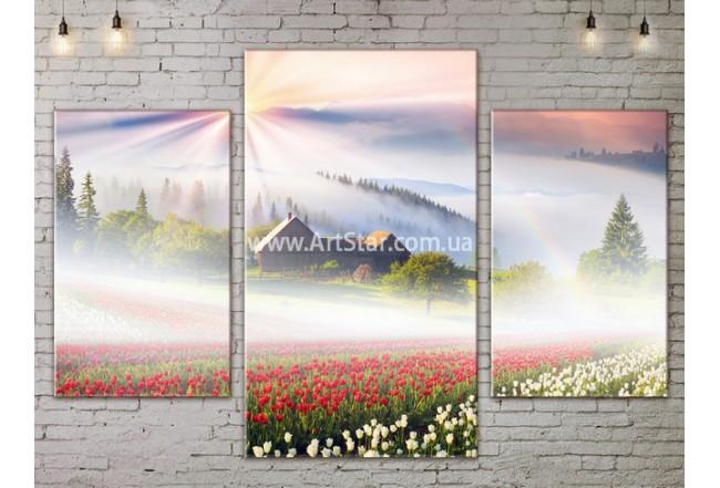 Модульные картины пейзажи, Art. NATA777147