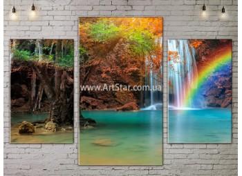 Модульные картины пейзажи, Art. NATA777159
