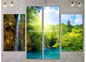 Модульные картины пейзажи, Art. NATA777169