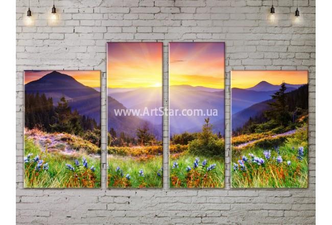 Модульные картины пейзажи, Art. NATA777179