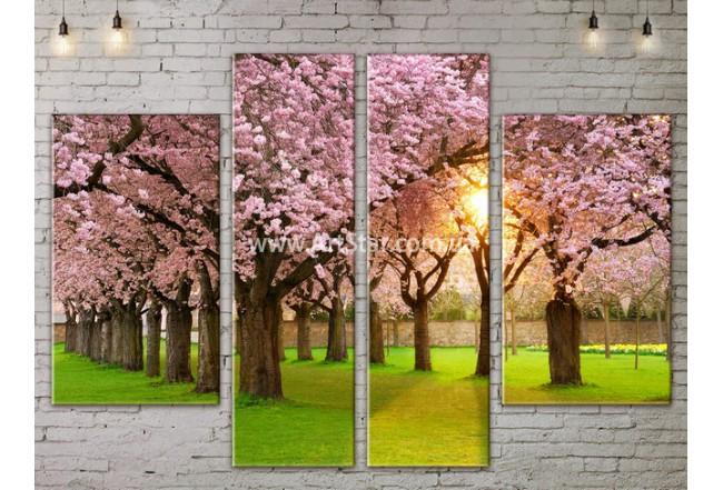 Модульные картины пейзажи, Art. NATA777183