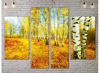 Модульные картины пейзажи, Art. NATA777187