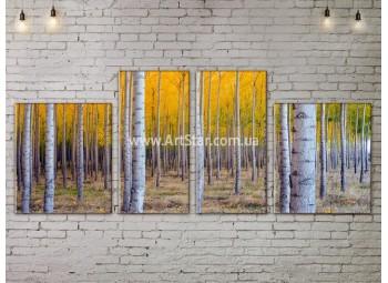 Модульные картины пейзажи, Art. NATA777189