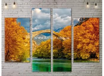 Модульные картины пейзажи, Art. NATA777199
