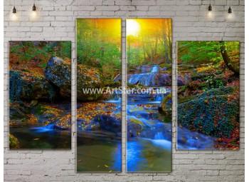Модульные картины пейзажи, Art. NATA777205