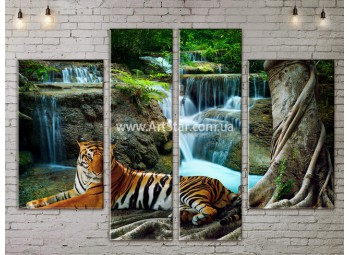 Модульные картины пейзажи, Art. NATA777219