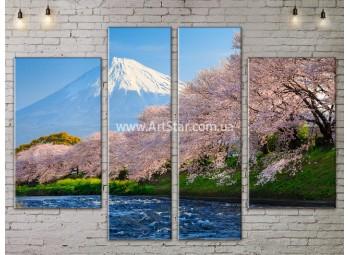 Модульные картины пейзажи, Art. NATA777225