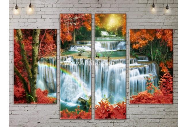 Модульные картины пейзажи, Art. NATA777233