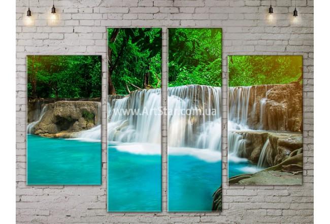 Модульные картины пейзажи, Art. NATA777237