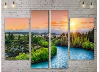 Модульные картины пейзажи, Art. NATA777239