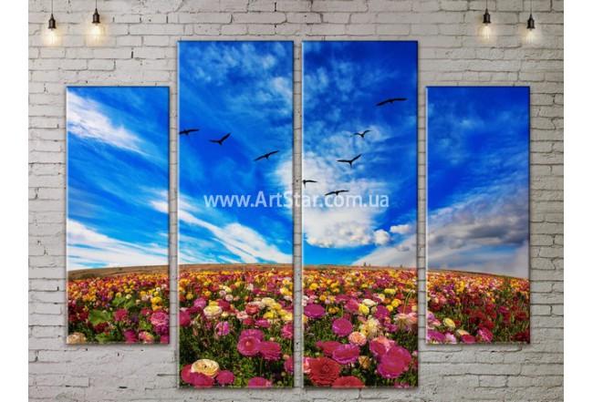 Модульные картины пейзажи, Art. NATA777241