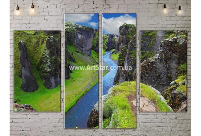 Модульные картины пейзажи, Art. NATA777243