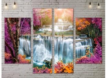 Модульные картины пейзажи, Art. NATA777251