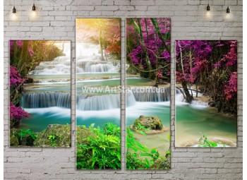 Модульные картины пейзажи, Art. NATA777259
