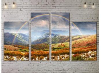 Модульные картины пейзажи, Art. NATA777265